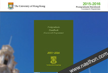 The University of Hong Kong - Postgraduate Handbook